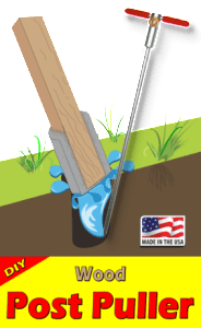 Fence post puller removal tool rental
